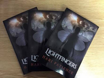 Paperback copies of Lightfingers